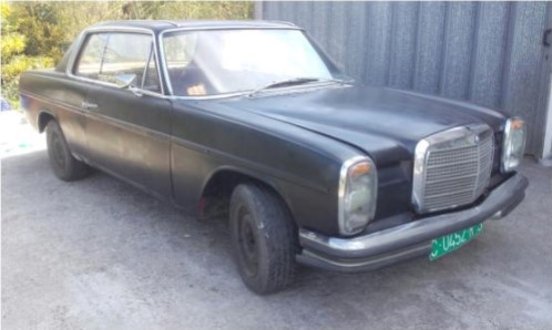 Restauración Mercedes W114 Coupe