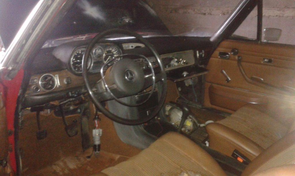 Despiece interior Mercedes W114 Parte1