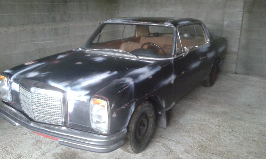 Despiece exterior Mercedes w114