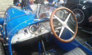 Bugatti en Santiago de Compostela