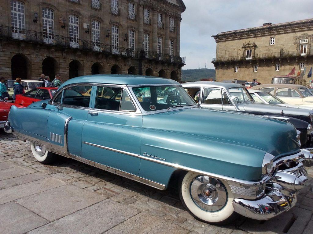 Cadillac en Santiago de Compostela