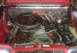 despiece mecanica Mercedes W114