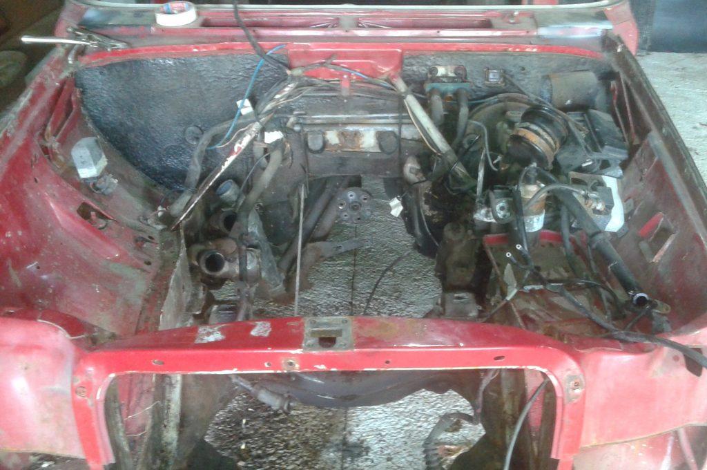 Despiece mecánica Mercedes w114