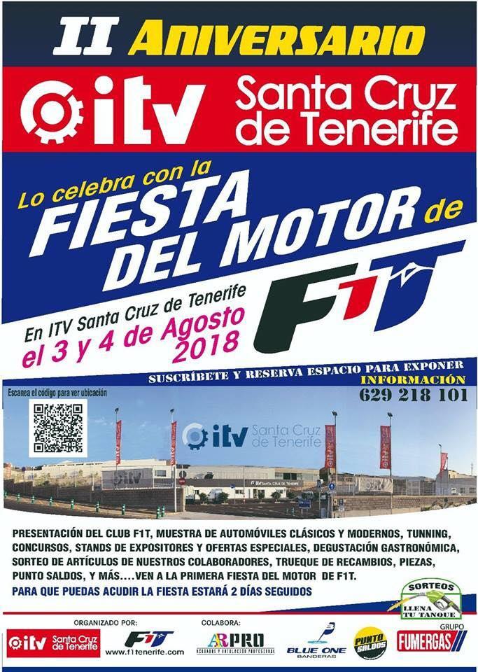 Fiesta del motor ITV Santa Cruz de Tenerife 2018
