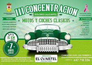 Concentración Clásicos Dolores (Alicante) 2019