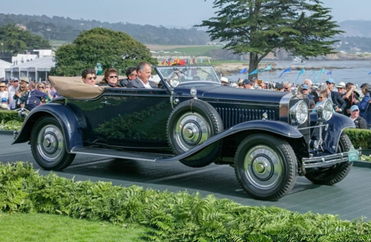 Concourse d´Elegance de Pebble Beach 2018
