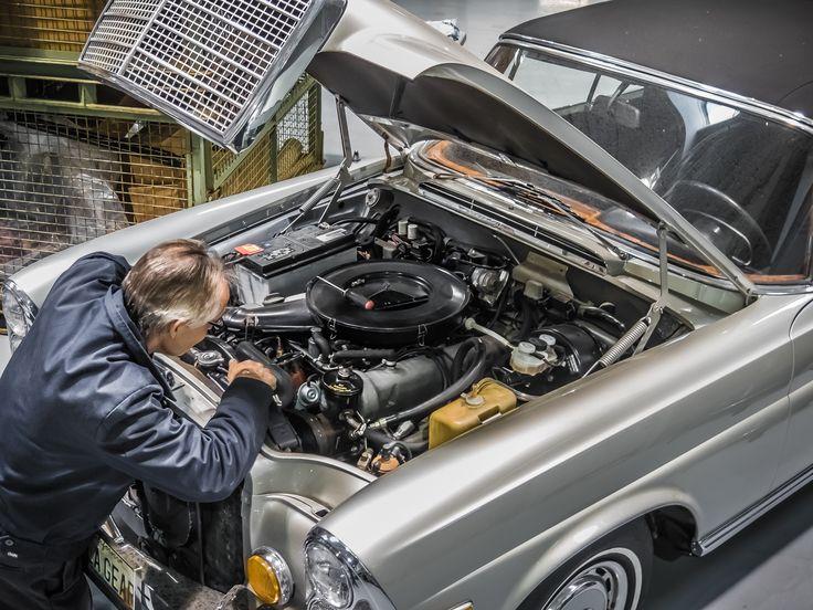 Mantenimiento de un coche clásico