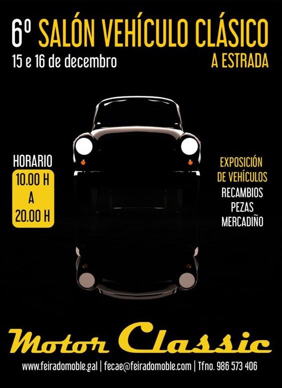 Salón Vehículo Clásico A Estrada 2018