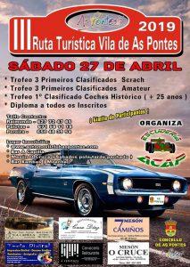 Ruta Turística Vila de As Pontes 2019
