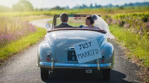 Coche clásico para bodas