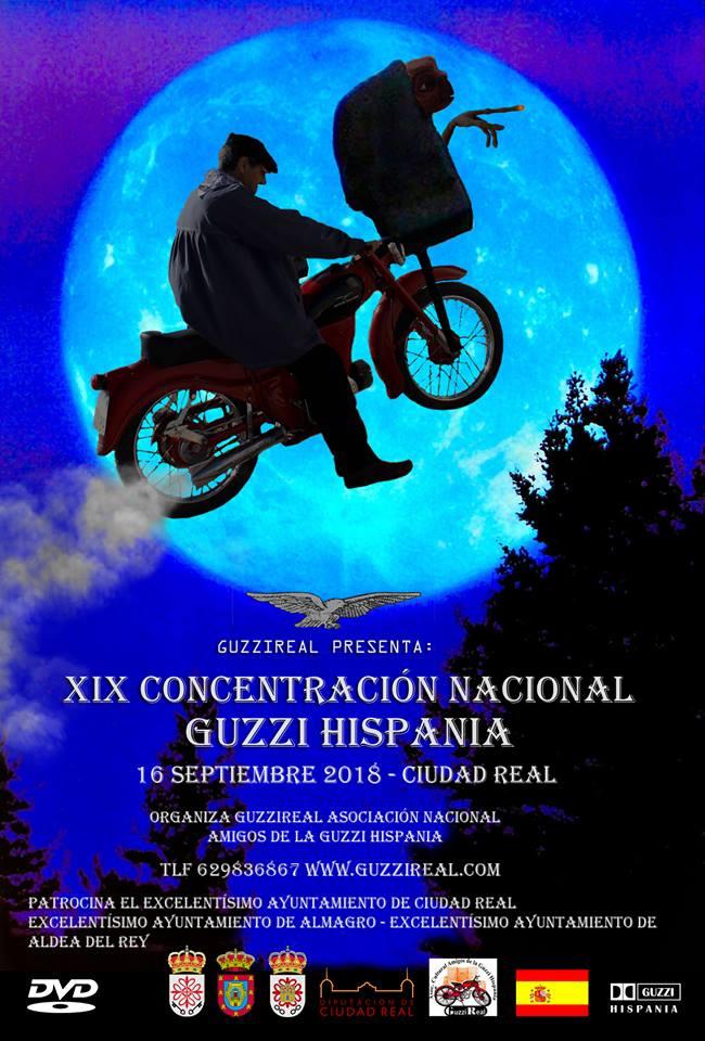 Concentración Nacional Guzzi Hispania 2018