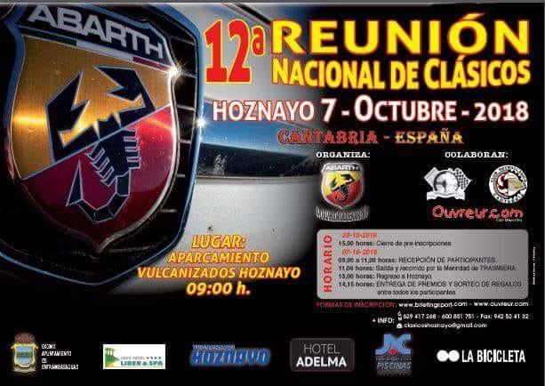 Reunión Nacional de Clásicos Hoznayo 2018