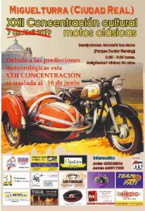 Concentración Cultural Motos Clásicas Miguelturra 2019
