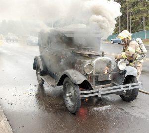 Fuego En Vehículos Clásicos