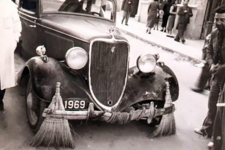 Rolls-Royce usado como camión de basura